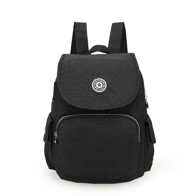 2017 Women waterproof Nylon Backpack Shoulder School Bags For Teenagers Girls Female Casual Travel Bags Pack
