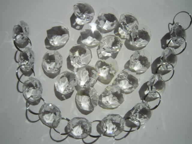 100pcsfree rings aaa top 14mm chandelier crystal bead doorwindow 100pcsfree rings aaa top 14mm chandelier crystal bead doorwindow crystal octagon beads in 2 holes home decoration accessories in party diy decorations aloadofball Gallery