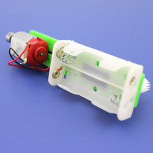 FEICHAO Brush Car RC Model Kit DIY Scientific Toys Small Production Vibration Toy Car for Science Training Experiment