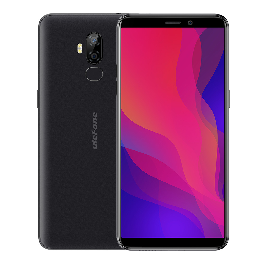 2019 new Ulefone Power 3L 6.0 Inch 18:9 HD+ Smartphone 6350mAh MT6739 Ouad Core 2GB 16GB Face ID Android 8.1 NFC 4G Mobile phone