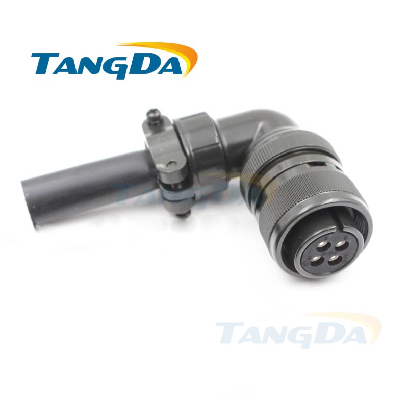 Tangda Connectors MR-PWCNS4 18-10S MS3108 3108B18-10S 4P 4PIN 4 core 5015 Electric machinery Aviation plug Servo motor encoder 1657009[fiber optic connectors vs scrj pof fa ip67] mr li
