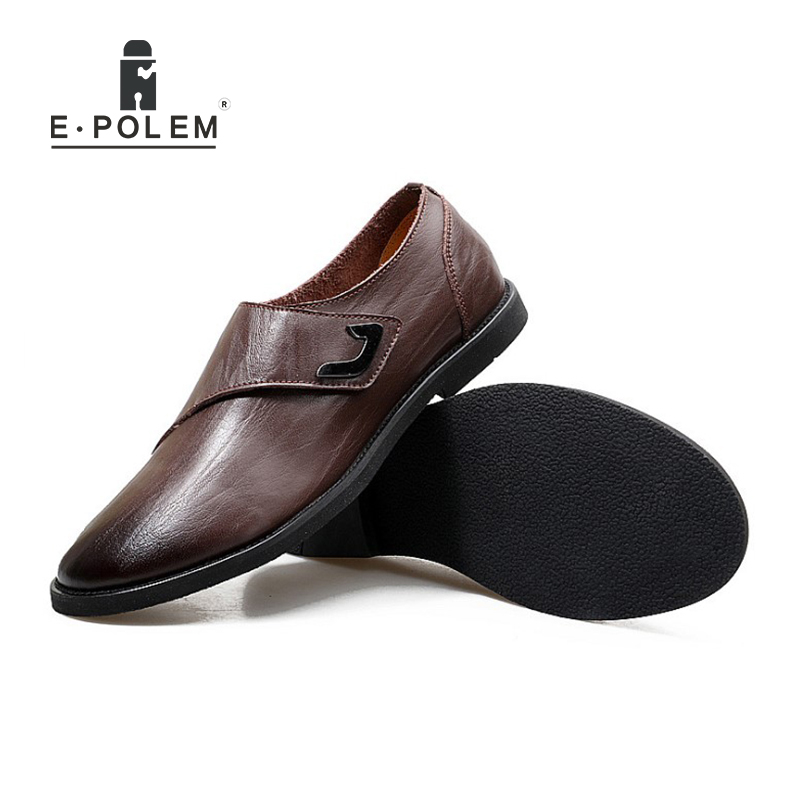 Spring Autumn Men Business Casual Genuine Leather Breathable Men Shoes Han Style Fashion Men Waterproof Low Help Slip On Shoes branded men s penny loafes casual men s full grain leather emboss crocodile boat shoes slip on breathable moccasin driving shoes