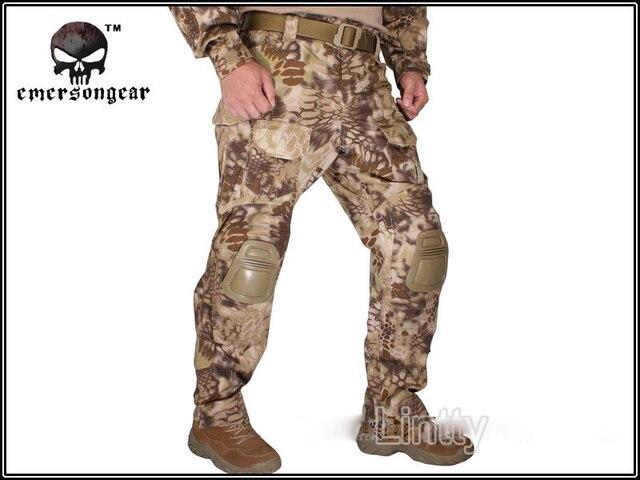 eb78001517 EMERSON G3 Combat Pants with Knee Pads HIGHLANDER EM7047 War Game tactical  pants BDU