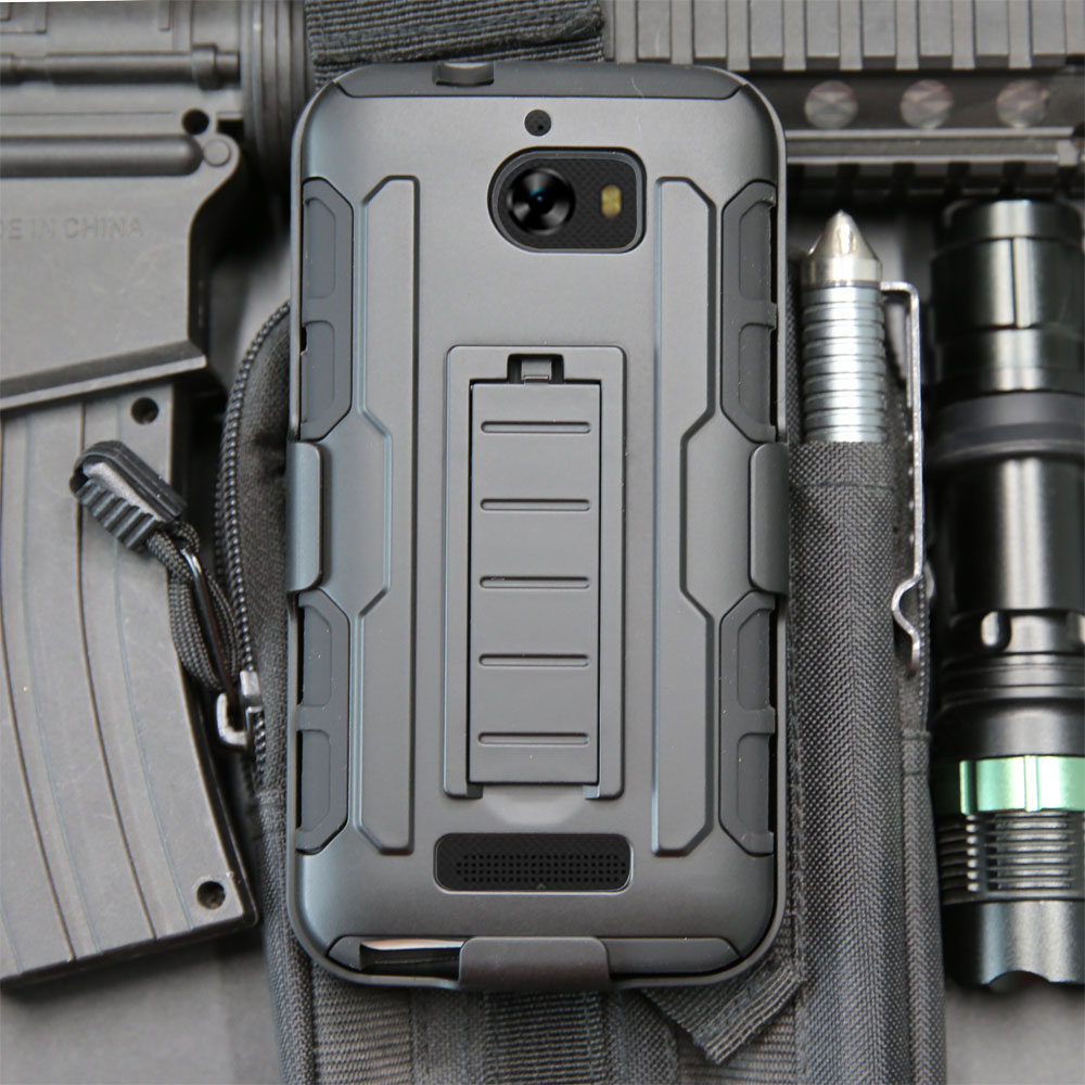 For CoolPad Defiant 3632 Heavy Duty Shell Armor Case Shockproof Belt Clip Holster Case Cover For CoolPad Defiant 3632 5.0 }