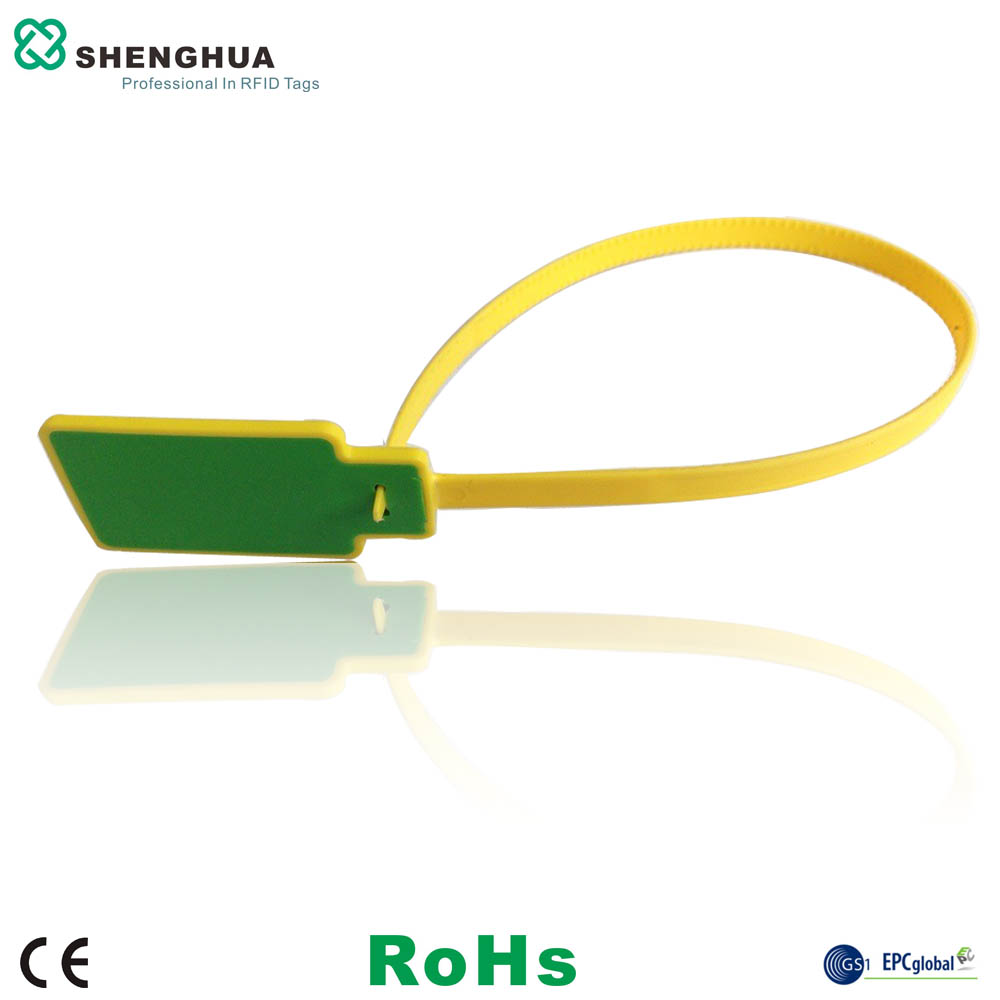 10pcs/pack UHF RFID Passive Zip Tie Tag Rfid Cable Tie Tag Plastic Smart Waterproof Seal Tags For Tree Access Management
