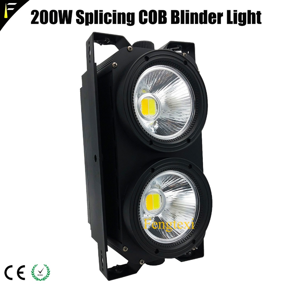 Super Bright High Power Studio/Church/Theatre Light COB Lamp Blinder Panel 2x100W Warm White Plus Cool White Can Be Spliced
