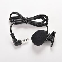 3.5mm Active Clip Microphone With Mini USB External Mic Audio Adaptor Cable For Go Pro Hero 3 3+ 4 Sports Camera PC Laptop
