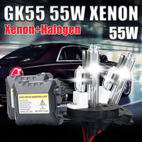 55W Xenon H4 HID KIT H4 2 H13 2 9004 9007 HALOGEN And Xenon Kit 4300k