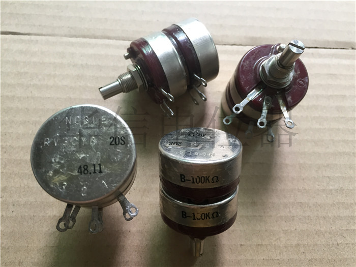 Quality assurance Japan RV30YG 20S B100K double potentiometer with a nut and gasket (SWITCH) wl 148 single joint calipers potentiometer b100k 20mm