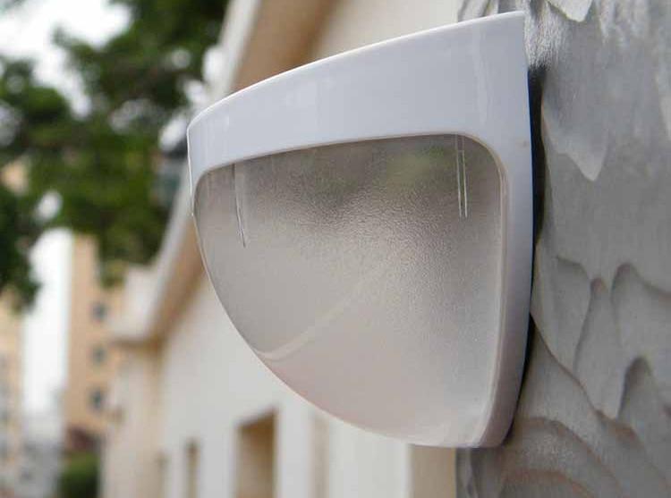 wall solar lamp