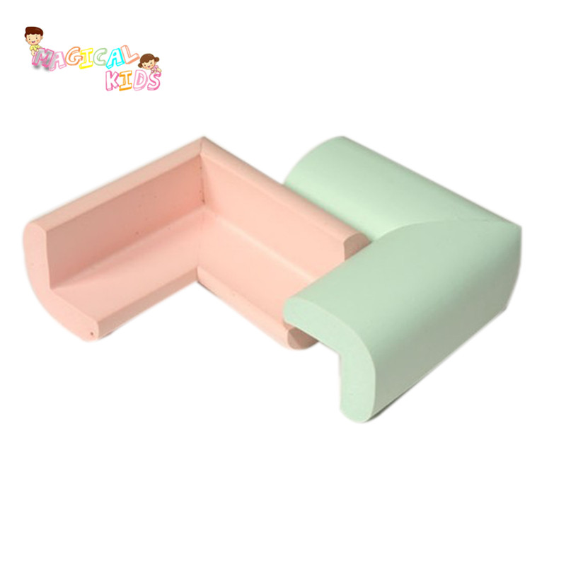 ... 6bag/lot High Quality Baby Thick Soft Glass Table Edge Corners On Furniture  Corner Protector ...