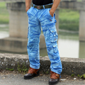 Мужская Осень Вмс боевой камуфляжные штаны хлопок оснастки брюки свободные нескольких карман случайные pantsdo538