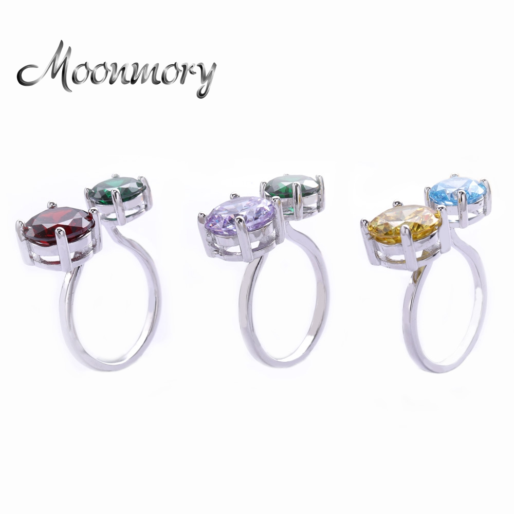 Moonmory Charming-Rings Jewelry Romantic Wedding-Engagement 925-Sterling-Silver Fashion