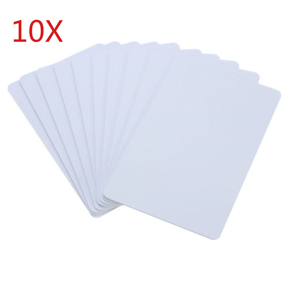 10pcs UID IC Card Changeable Smart Keyfobs Clone Card For 1K S50 MF1 RFID 13.56MHz Access Control Block 0 Sector Writable