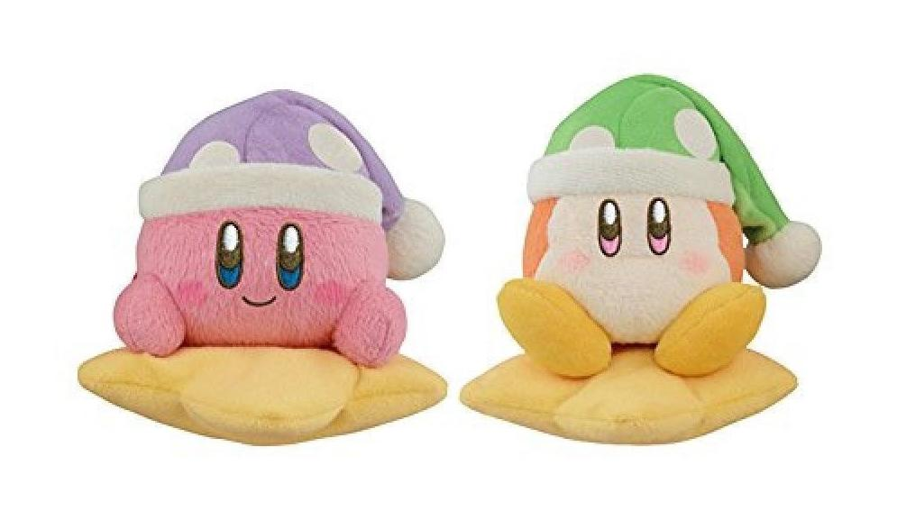 Kirby Kuji 2018 Twinkle Night Kirby & Waddle Doo Plush Size 4 image