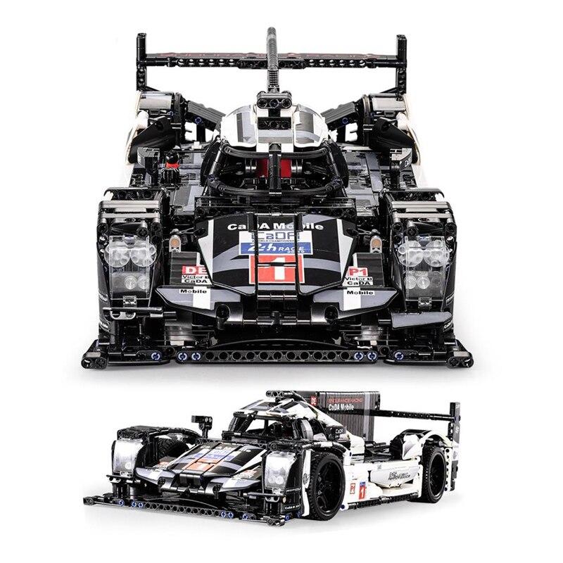 Cada móvel técnica 1586 pçs super esporte carro velocidade campeão cidade moc criador bloco de construção tijolos diy brinquedos presentes para crianças