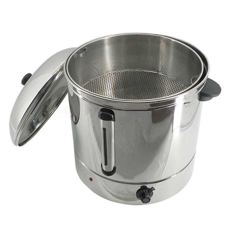 48L Stainless steel sweet corn steamer Commercial electric steamer AG 48 corn steam cooker for canteen/hotel/restaurant220V/110V|Electric Food Steamers| |  - title=