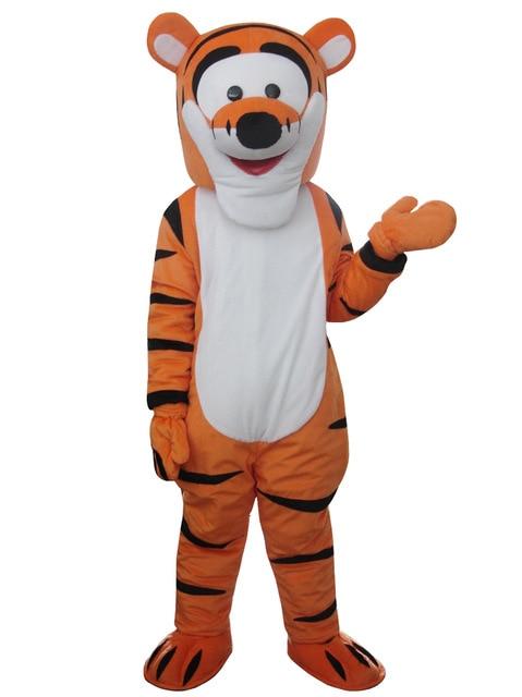 Costume de mascotte tigrou Costume de mascotte de bande dessinée personnage Costume de cosplay Costume de bande dessinée adulte taille jour de fête adulte - 2