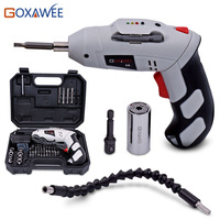 Power Hand Tools 4 8V Rechargeable Electric Screwdriver Electric Drill Battery Cordless Electric Drill Screwdriver With
