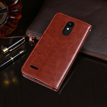 For LG K9 Case Flip Wallet Business Leather Capa Phone for X210NMW Cover Coque Accessories