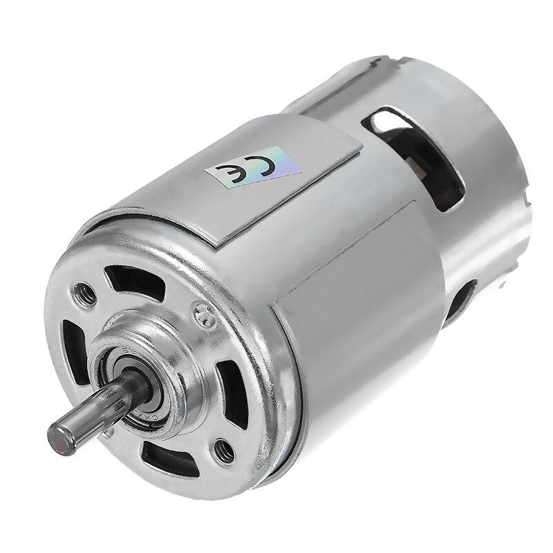 1 шт. постоянный ток 775 24В 15000 об/мин высокоскоростной большой крутящий момент двигатель постоянного тока Электроинструмент новые двигатели и запчасти двигатель постоянного тока