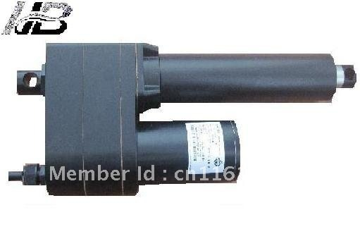 24VDC for industry using heavy load High speed high efficiency linear actuator with limited switch