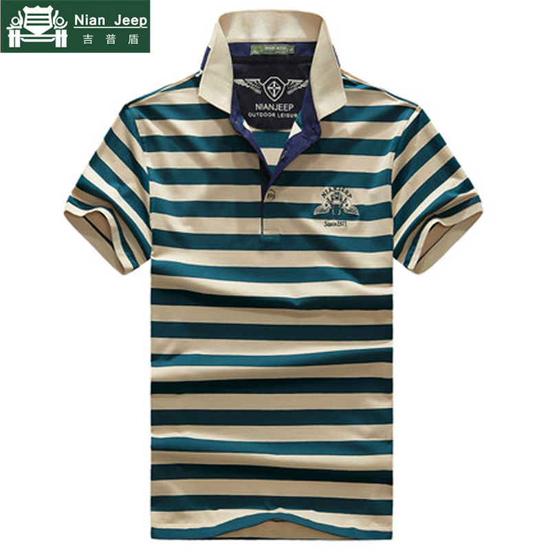2018 NIANJEEP Summer   Polo   Shirt Men Cotton Casual Contrast Color Patchwork Short Sleeve Men   Polo   shirt Plus Size 3XL camisa   polo