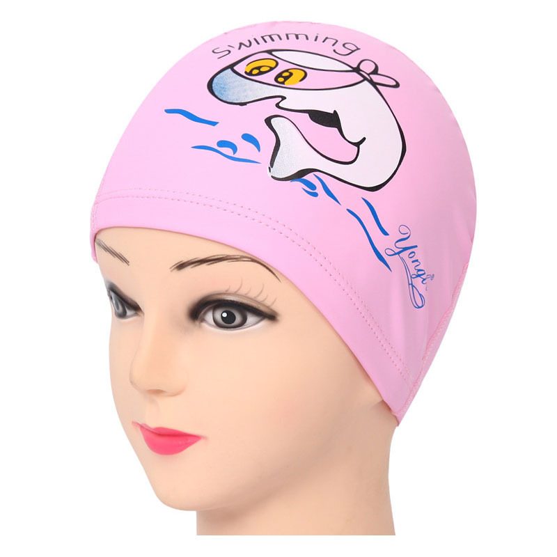 Hot πώληση PU Κολύμβηση Cap Παιδιά Cartoon - Αθλητικά είδη και αξεσουάρ - Φωτογραφία 5