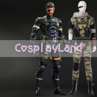 Новое поступление игры Metal Шестерни Косплэй костюм змея Хэллоуина вечерние костюмы для Для мужчин полный набор игровой костюм Индивидуальн