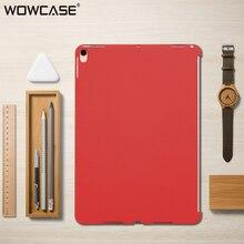 WOWCASE ультратонкий протектор для iPad Pro 10,5 случае роскошный матовый тонкий твердый пластиковый случаи задняя крышка для iPad Pro 10,5 Coque Капа