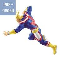 Presale August Original Banpresto My Hero Academia Figure The Amazing Heroes All Might PVC action figure model Figurals