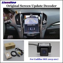 Liandlee Original Screen Update System For Cadillac SRX 2013-2017 Rear Reverse Parking Camera / Digital Decoder / Rear camera liandlee original screen update system for mercedes benz gle class rear reverse parking camera digital decoder rear camera