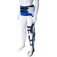 Ортез голеностопного сустава бедра для перелома бедра HKAFO нестабильность фиксация голеностопного паралича ноги