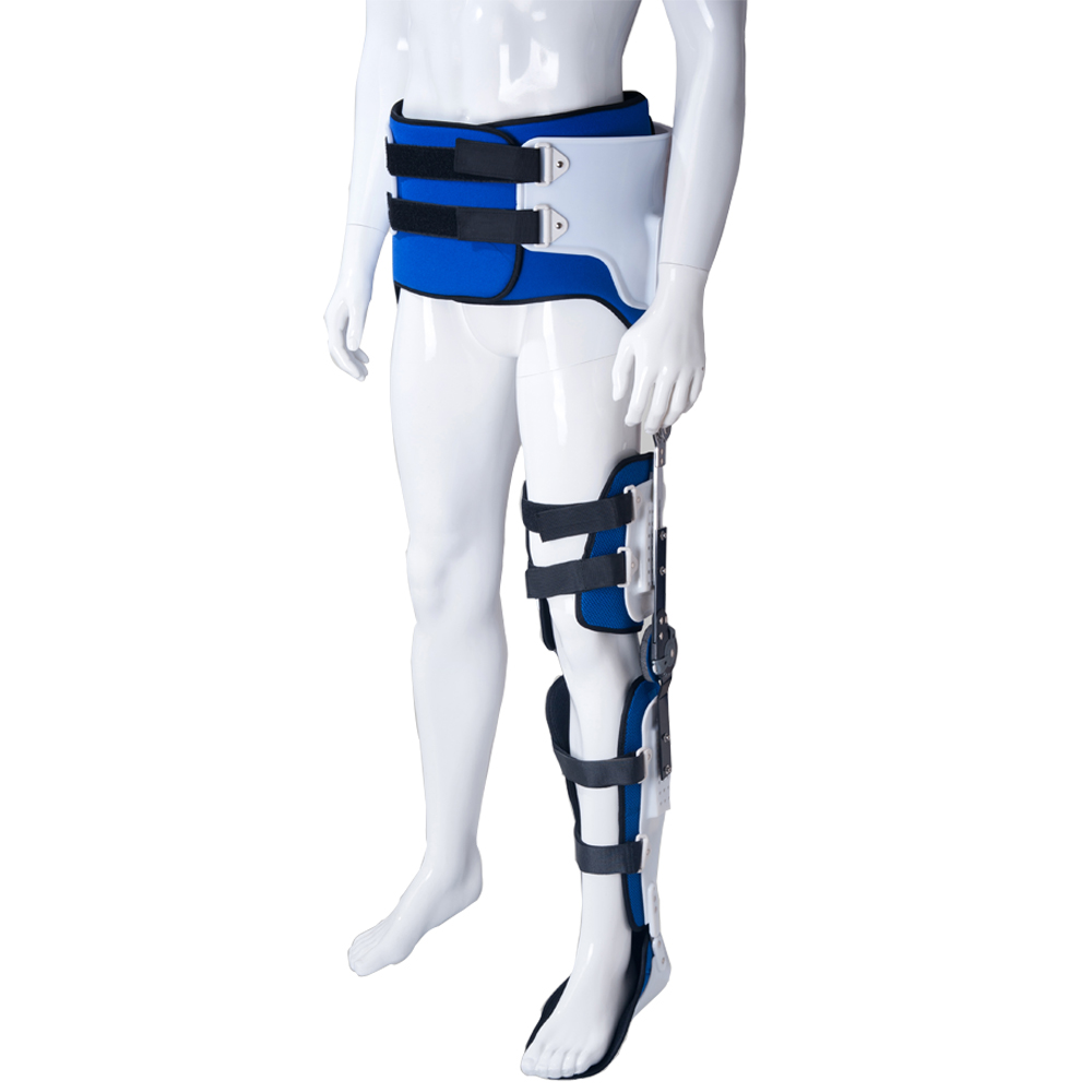Hip Knee Ankle Foot Orthosis For Hip Fracture HKAFO Instability Fixation Of Lower Limb Paralysis Leg
