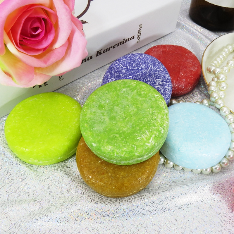Handmade Hair Shampoo Soap Dry Shampoo Soap Oil-control Shiny Smooth Hair Repair Soap Anti-Dandruff Off Hair Care