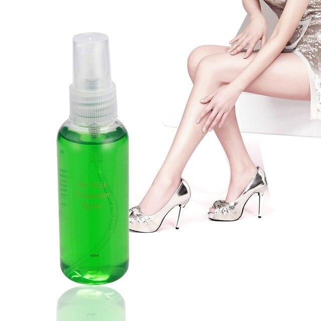 1 cái PRE Sáp Điều Trị Phun Chất Lỏng Tóc Loại Bỏ Remover Tẩy Lông Phun 60 ml bao bì Mới