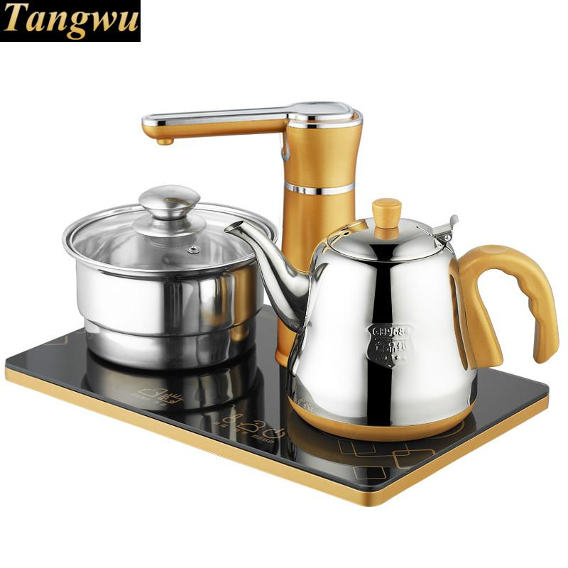 Automatic water electric kettle boiler boiling tea heater Safety Auto Off Function