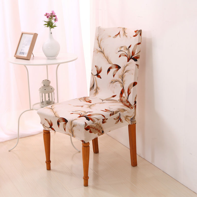 Removable Stretch Chair Cover Dining Room Wedding Party Spandex Seat Restaurant