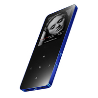 Bluetooth MP4 Player with Metal Mp4 Player Portable Media Slim 8GB Walkman With Touch Keys 1.8 Inch Screen Fm Radio Video Mp4