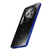 MP4 Player with Metal Mp4 Player Portable Media Slim 8GB Walkman With Touch Keys 1.8 Inch Screen Fm Radio Video Mp4