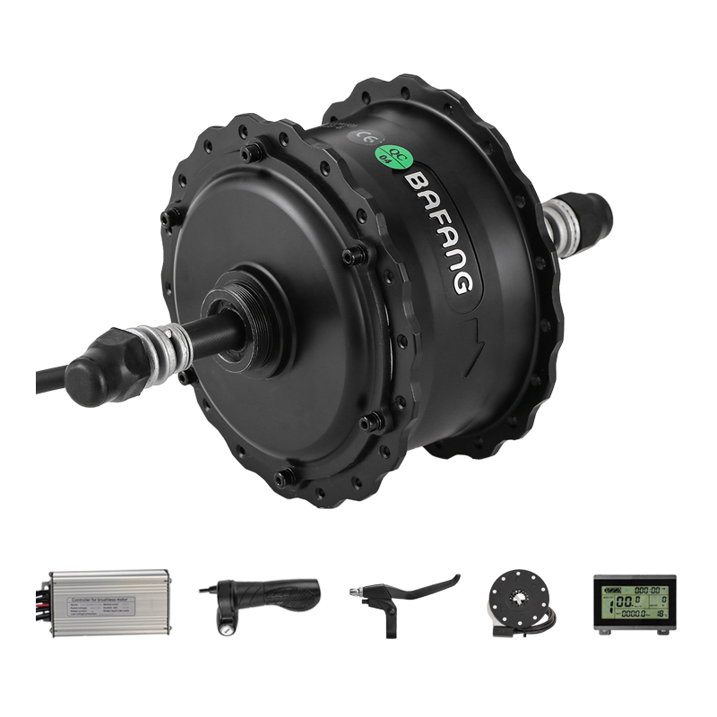 500W Rear Motor Components with bafang 48V Brushless Gear Hub RMG06 D OLD 190mm Thread in Type Fat Bike