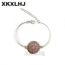 Xkxlhj2018 женский браслет с мандалой чакра om ювелирные изделия