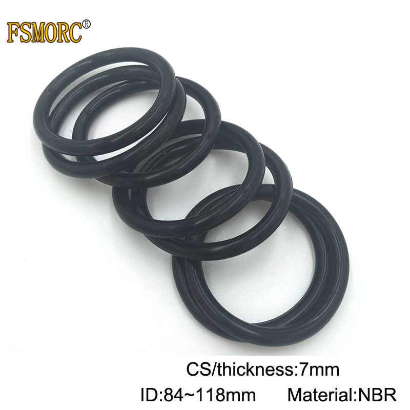 sourcingmap 20pcs Black Nitrile Butadiene Rubber NBR O-Ring 12mm Inner Dia 1.5mm Width