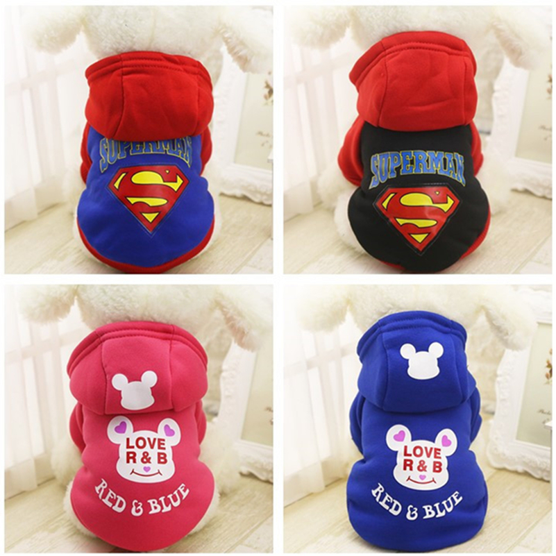 Warm Pet Dog Clothes Puppy Outfit Winter Dog Clothes For Small Dogs Chihuahua Clothing Pet Coat Yorkie Hoodie XS XXL 25S1