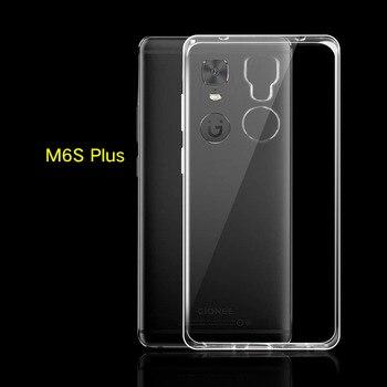 63f734d095c Para Gionee m6S más m6Splus... m6 más m6plus teléfono caso transparente de  color