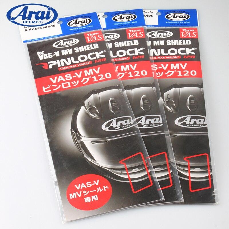 Genuine ARAI Pinlock Insert Lenses for Arai RX 7X ASTRAL Quantum J Helmet Original Motorcycle Anti