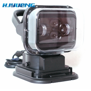 """Image 3 - For 4X4 Marine Camping Boat Headlight 12v 24v led searching light 7inch 7"""" 60W LED Remote Control Searchlight LED Spotlight"""