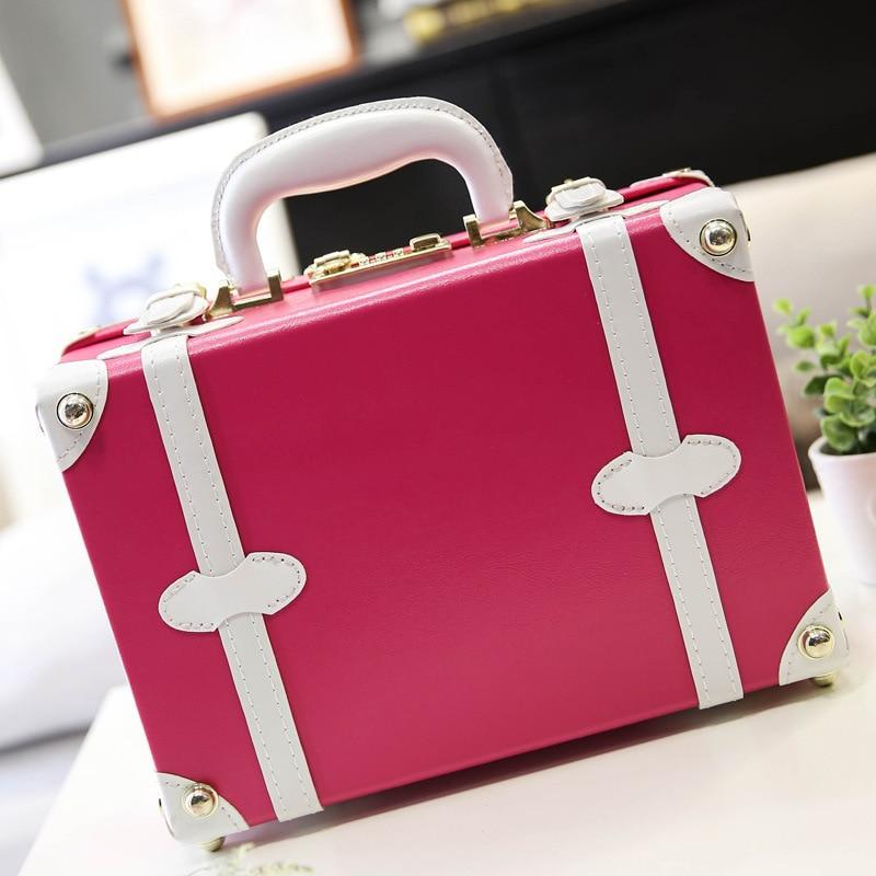 14 tums bärbar rosa kosmetisk malas duffelväska Hello Kitty - Väskor för bagage och resor - Foto 5