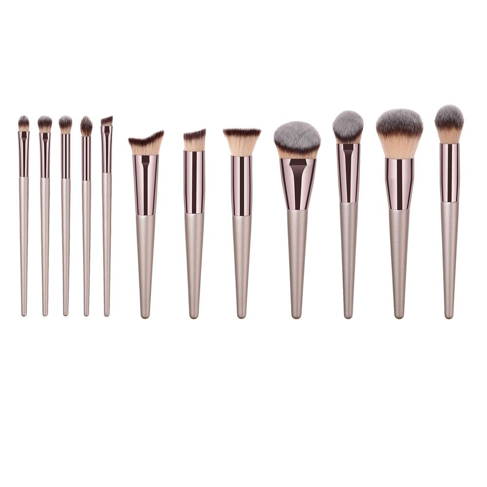 1/4pcs Pro Makeup Brush Foundation Eyebrow Eyeshadow Cosmetic Brushes Makeup Brush brochas maquillaje pincel maquiagem brocha para polvos sueltos