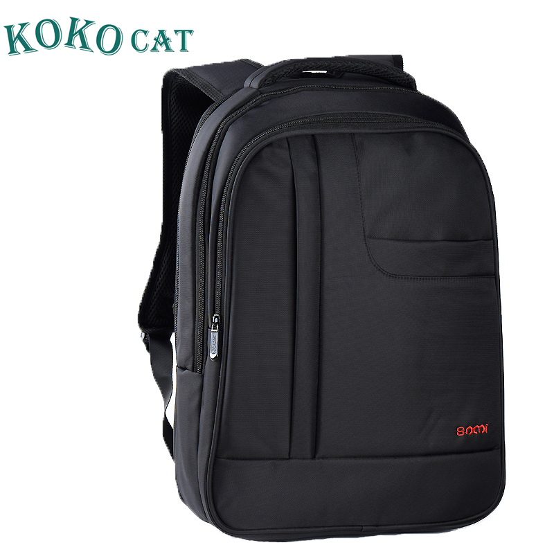 SAMI KOKOCAT 16 Inch Casual Man Laptop Backpack Men's Waterproof Large Capacity Backpack for Women Black School Bags In Stock large capacity casual man backpack